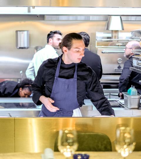 Chef, Serveurs & Hôtesses